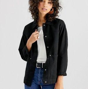 ASOS DESIGN oversized utility jacket size 10